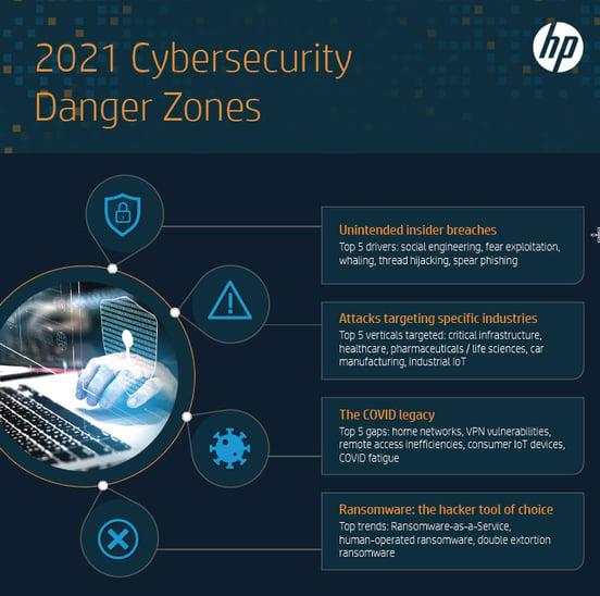 Cybersecurity Danger Zones